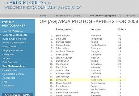 2008 Q4 WPJA wins 18