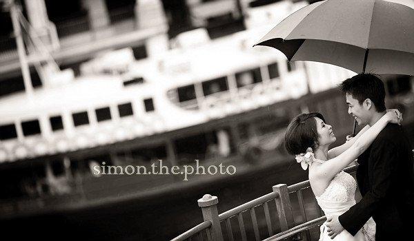 romance in rain, queenie and sidney 14