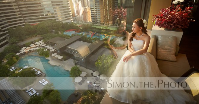 A beautiful wedding at Grissini Grand Hyatt …… Queenie and Keith 10