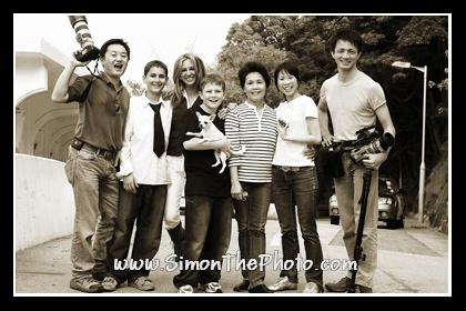 Simon & Fiona 's family