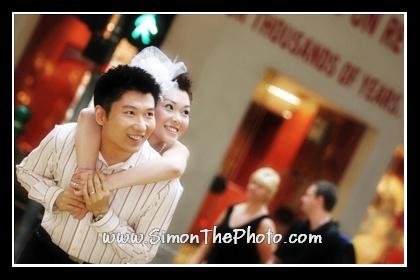 Wedding photo on Paterson street