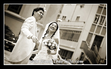 wedding photos at Catholic Cathedral of The Immaculate Conception