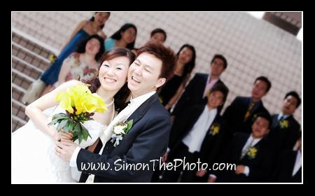 A wedding in snow - Amy & Ricky 5