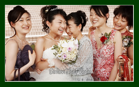Yuka, her mother & sisters