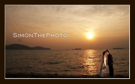 Sun Set shot