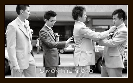 Kaiser & groomsmen