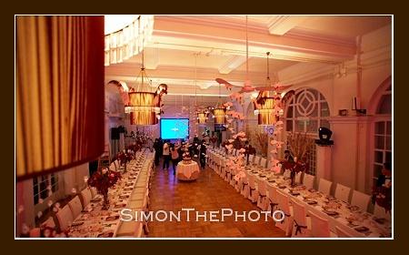 wedding reception at Helena May